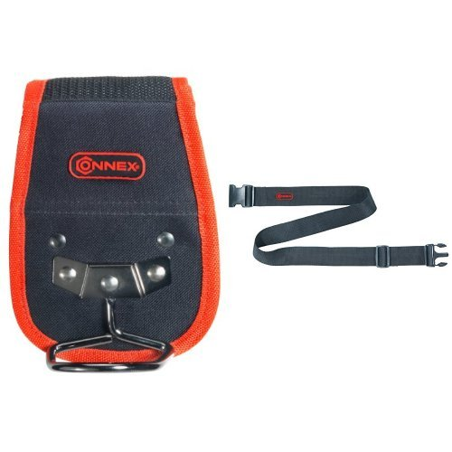 Connex COX952049 Hammerhalter Polyester + Connex Werkzeuggürtel verstellbar Nylon, COX952051