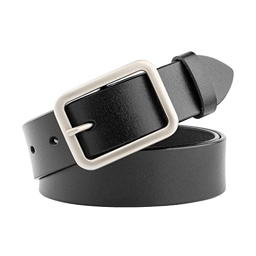 WHIPPY New Arrival Jeans Belt for Women Genuine Leather Belt with Pin Buckle