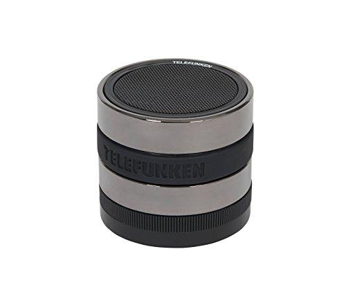 Telefunken BS1002 tragbarer Bluetooth-Lautsprecher (Freisprecheinrichtung, 4 Stunden Wiedergabe)