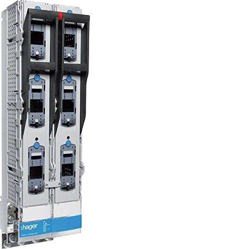 Hager NH3 Doppel-Schaltleiste LVDR1260CPX Schrauban. 185mm SAS Sicherungsleiste 4049857125159