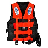 TALLIN® Safety Life Jacket for Swimming Super lite Vest with 3-Buckle Weighing 75-95