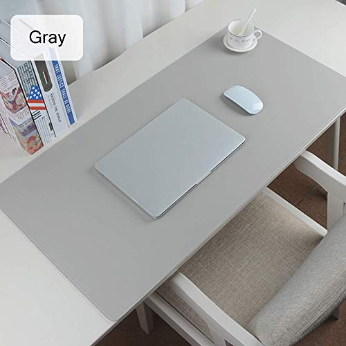qazwsx Schreibtisch-Pad-Schutz, wasserdichtes Pu-Leder-Schreibtischmatte Extended Gaming-Mauspad, multifunktionales, ultradünnes, rutschfestes Schreibmatten-Schreibtisch-Blotter-Tastaturpad für gra