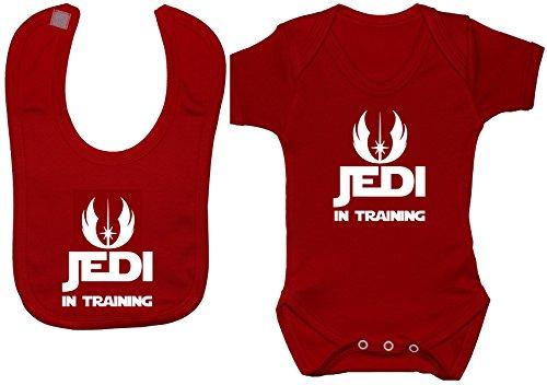 Acce Products - Body - Uni - Manches Courtes - Bébé (fille) 0 à 24 mois, Rouge, 3-6 mois