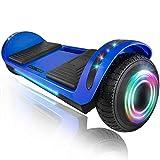"""XPRIT 6.5"""" Hoverboard Self-Balance Two Wheel w/Built-in Wireless Speaker (Blue)"""