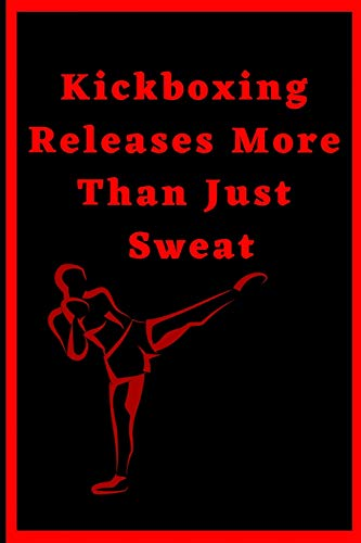 Kickboxing Releases More Than Just Sweat: Kickboxing Journal Undated Diary Planner