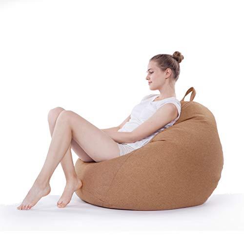 Lumaland puf de Interior Comfort Line XL - Marron