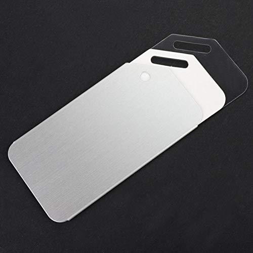minifinker Etiqueta de Equipaje portátil de 5 Piezas de Metal Ligero para Silla de Paseo, Mochila para Bolso, Silla de Paseo para Equipaje