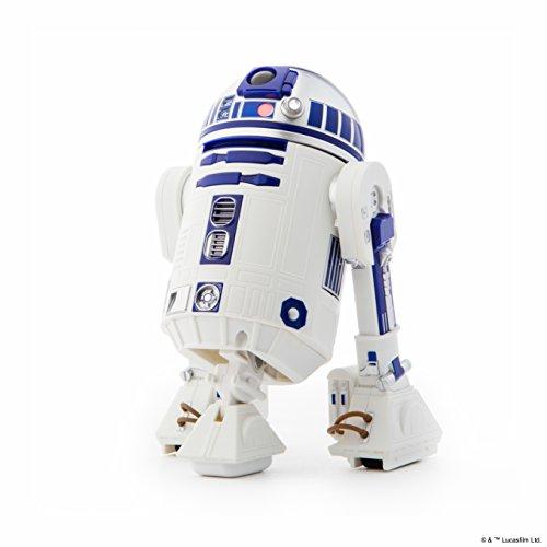 Sphero Star Wars R2-D2 App-Enabled Droid Robot - Juguetes de Control Remoto (Polímero de Litio, 5 V, 1 h, 108 mm, 108 mm, 170 mm)
