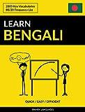 Learn Bengali - Quick / Easy / Efficient: 2000 Key Vocabularies