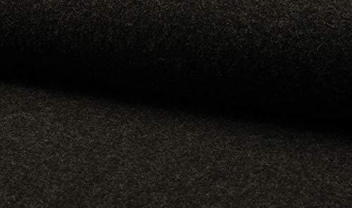 Fabrics-City 5049 - Tela 100% Lana Virgen (620 g), Color Gris Antracita