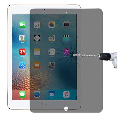 Vervangende Screen Film, Ultradunne 0.33mm 9H 2.5D Privacy Anti-verblinding Explosiebestendige Front Full Screen Protector Gehard Glas Film Scherm Shield voor iPad 9.7 (2018)/(2017) & Pro 9.7 & Air 2 & Air