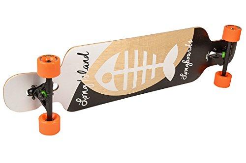 Long Island Bone 25,3 cm x 104,39 cm Skateboard completo
