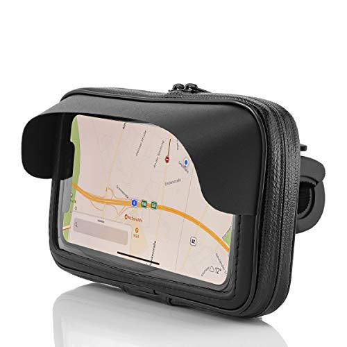 MidGard Support Universel pour vélos et Motos pour Smartphones de 5,7 à 6,0 Pouces Compatible avec iPhone/Samsung/Huawei/Sony, etc.