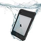 FONREST Redpepper Impermeable Funda para iPad Pro 11 2020, Certificado IP68 Delgado Antichoque Antipolvo Al Aire Libre Sellado por Completo Submarino PC de TPU Carcasas con un pie de Apoyo extraíble