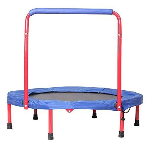 UIZSDIUZ -Cama elástica Interior y Exterior pequeña Que despide Bed-Primavera Aptitud de los niños con apoyabrazos
