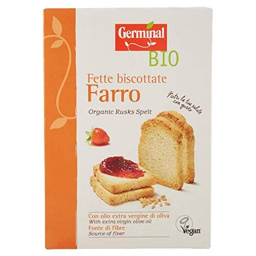 Germinal Bio Fette Biscottate Farro - 200 gr