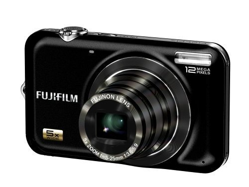 Fujifilm Finepix JX200 Digitalkamera (12 Megapixel, 5-fach opt.Zoom, 6,9 cm Display) schwarz