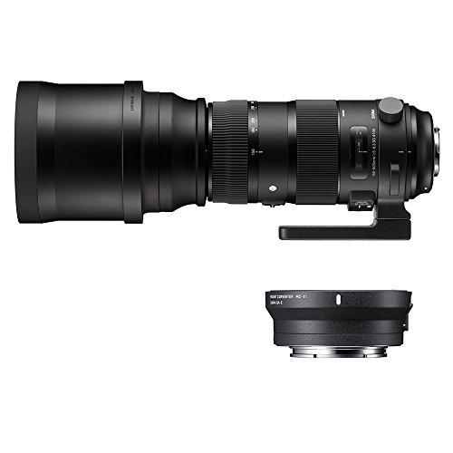 Sigma 740954_89E965 - Kit 150-600 mm F5-6.3 Sport EOS + MC-11, Color Negro