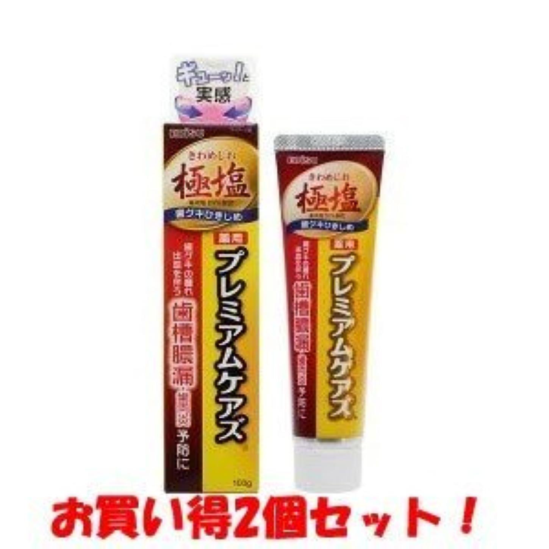バーベキューシロクマアレンジ(エビス)極塩 薬用プレミアムケアズ 100g(医薬部外品)(お買い得2個セット)