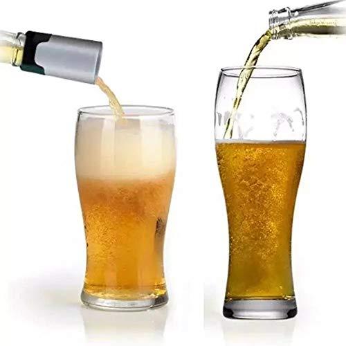 ILS Alkoholschaum Tragbarer Alkoholschaum Trinken Bubbler Ultraschall Flüssigschaum Werkzeug Dekanter für Alkoholkühlgerät