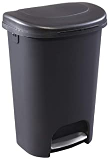 Rubbermaid Step-On Lid Trash Can for Home, Kitchen, and...