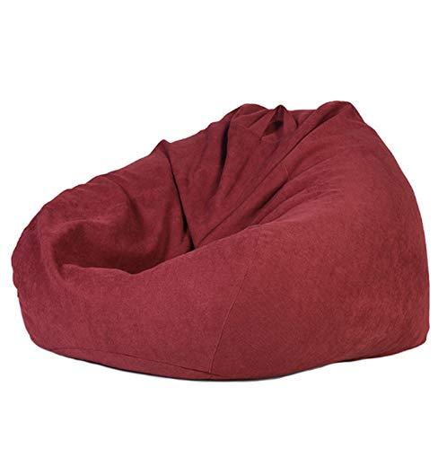 AGVER Klassischer Sitzsack Sofabezug Ohne Füllung, Hergestellt Aus Weichem Und Bequemem Kurzflorigem Polyestergewebe 3 Größen,XXL