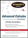 Schaum's Outline of Advanced Calculus, Third Edition (Schaum's Outlines) - Robert C. Wrede