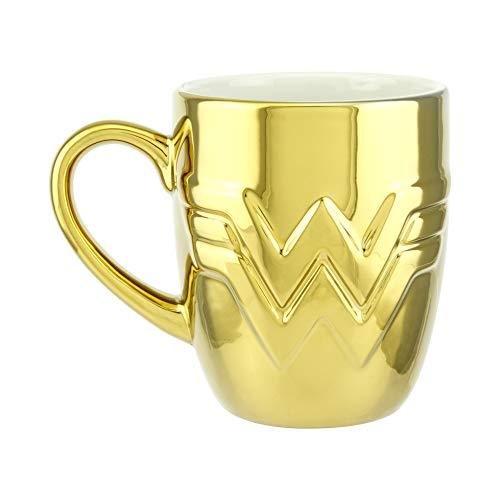 Paladone Dc Comics Wonder Woman 1984 Logo Gold PP6774WWF, One Size