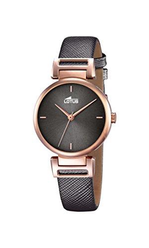 Lotus 18229/3 - Reloj de Mujer (Cuarzo, analógico, Correa de Cuero), Color marrón