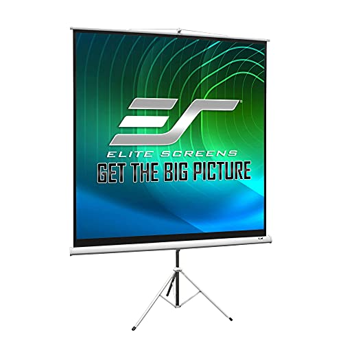 : Elite Screens T120NWV1 Tripod Portable Projection Screen (120 inch diag. 4:3 Viewable 72