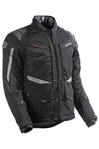 Dane DRAKAR GORE-TEX Motorradjacke Farbe schwarz, Größe 54
