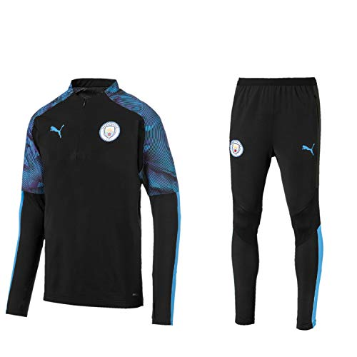 PUMA Manchester City FC Trainingsanzug Herren der Saison 2019/20, Größe:XL