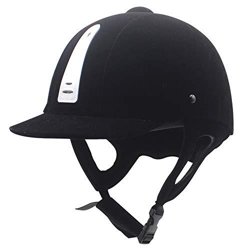 KOET Casco Equitazione Cappello ABS Di Sicurezza Copricapo Resistente all'usura & Easy Wear w/Air Vent per le Donne Uomini Equestre Attrezzature