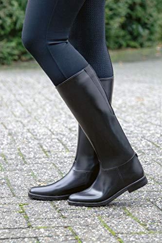 HKM Reitstiefel Basic Damen, Standard, Gr. 40, schwarz