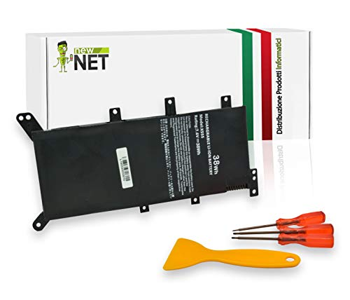 New Net - Batteria da 4900mAh Compatibile con Notebook ASUS A555 A555L F555 F555L F555LD F555LF K555 K555L K555LD R556 R556L R556LD R556LJ X555 X555L X555LB X555LD X555LF X555LI X554L X555MA X555B