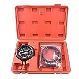 Benkeg Medidor de prueba,Carburador Válvula de carburador Bomba de combustible Tester de presión y vacío Kit de prueba de medidor