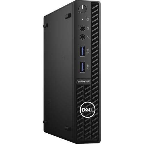 Dell OptiPlex 3080 Micro Form Factor Desktop, Intel Core i5-10500T, 8GB DDR4 RAM, 256GB SSD, Windows 10 Pro, Intel 3165 802.11ac dual band 1x1 + Bluetooth 4.2