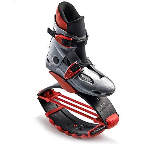 FACAI Deportes Zapatos De Fitness Saltar Zapatos De Tonificación Zapatilla De Deporte De Cuña Mujeres Hombres Zapatillas De Deporte Que Adelgazan El Cuerpo,Red-S