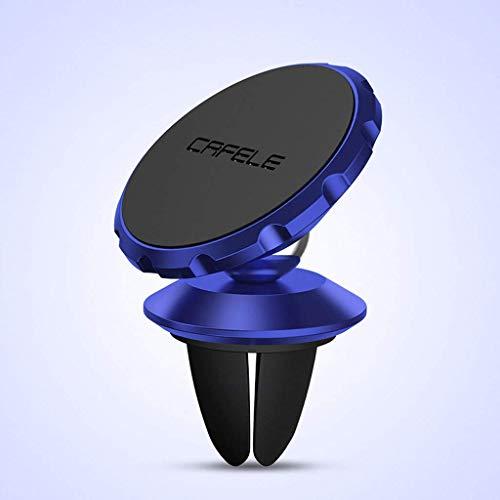 CESULIS Smartphone Soporte, Tenedores de teléfono móvil Soporte de aire con ventilación de aire soporte de teléfono magnético universal Montaje de cuna para la mayoría de los teléfonos celulares estab