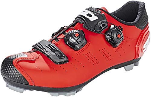 Sidi MTB Dragon 5 SRS Schuhe Herren matt red Schuhgröße EU 41 2020 Rad-Schuhe Radsport-Schuhe