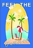 Feel the summer: Sommerlich schönes Notizbuch