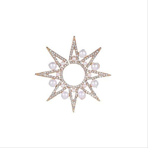 Dames oorbellen sets hoepels 1 stuk strass oorbellen vrouwen sieraden zonnebloem hengsten gesimuleerde parel oorbelgoud