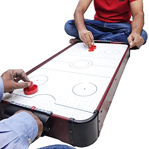 EVAN Air Hockey Game / Air Hockey Table /Ice Hockey Game 220V Electric Wall Adapter Powered Indoor Game.(86cm X 42cm X 10cm)