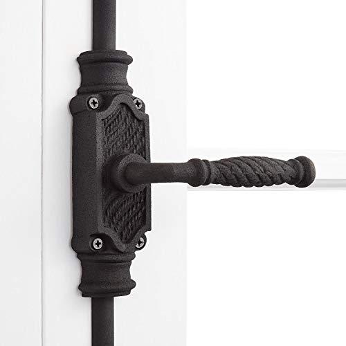 Signature Hardware 942098 Havering Iron Cremone Bolt for 9' Doors