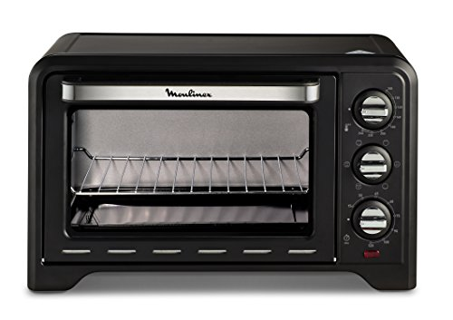 Moulinex OX4448 Optimo Mini-Elektro-Backofen, 19 l