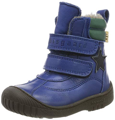 Bisgaard Unisex-Kinder Elix Schneestiefel, Blau (Cobalt 602-2), 23 EU