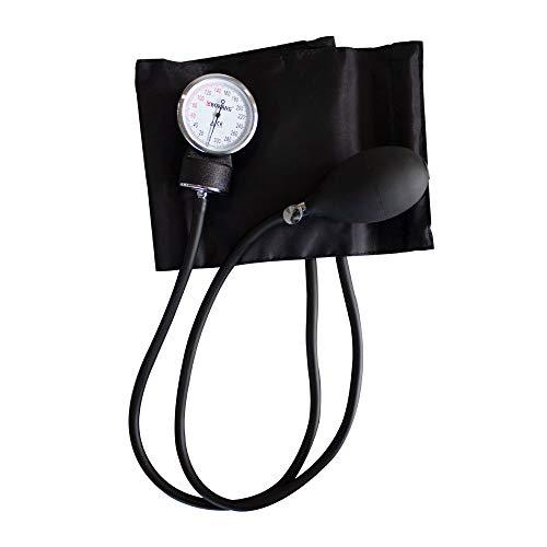 Mobiclinic, Pack de tensiómetro de brazo manual y fonendoscopio, Estetoscopio de aluminio y doble campana, Medición presión arterial, Alta Precisión, Fácil de usar