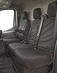 CAR ACCESSORY: Everyday messes, spilled beverages and stains can spoil your car seats but with Streetwize seat covers, you can protect the upholstery and make it look brand new. These custom-fit seat protectors are specially crafted for VW Transporte...