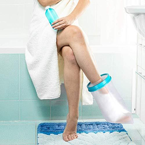 Fußgelenkschoner für Erwachsene, wasserdichte Gipsbandage, Schutz gegen gebrochene Füße, Knöchelverletzungen, Fersenwunden, Verbrennungen der Zehen, Chirurgie, Erholung beim Baden für Damen und Herren