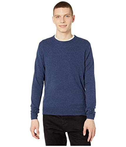 J.Crew Everyday Cashmere Crewneck Sweater in Solid Heather Shadow MD